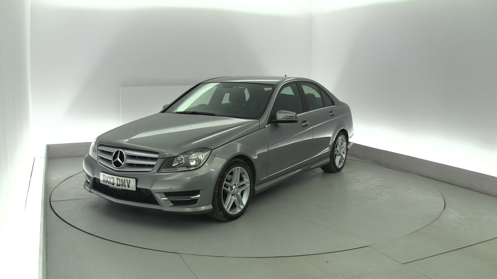 Used mercedes benz c class c200 cdi blueefficiency amg for How much does a mercedes benz silver lightning cost