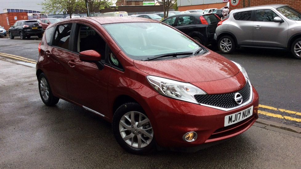 nissan note acenta premium 1 5 diesel 5 door hatchback 2017 mj17nuk in stock used nissan. Black Bedroom Furniture Sets. Home Design Ideas