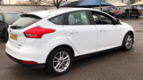 FORD FOCUS ZETEC HATCHBACK, PETROL, in WHITE, 2016 - image 4