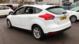 FORD FOCUS ZETEC HATCHBACK, PETROL, in WHITE, 2016 - image 6