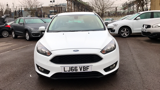 FORD FOCUS ZETEC HATCHBACK, PETROL, in WHITE, 2016 - image 1