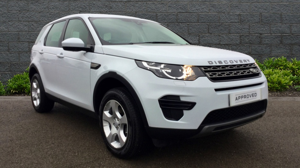 used land rover discovery sport se td4 white au66ule. Black Bedroom Furniture Sets. Home Design Ideas